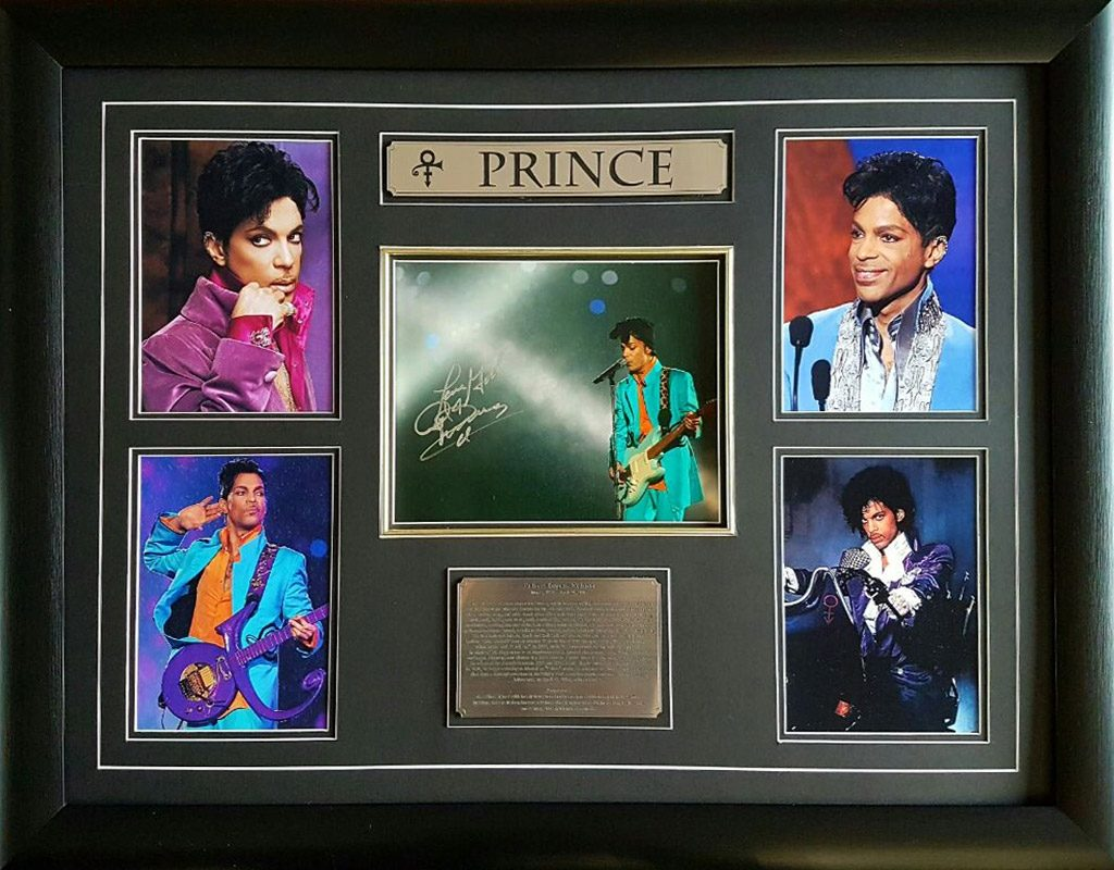 Prince: Signed Photograph