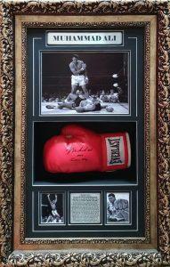 Muhammad Ali: Signed Glove