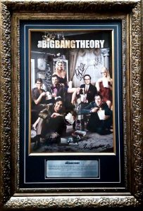 Big Bang Theory Cast Signed Poster (incl Photo proof)