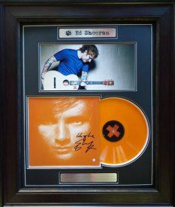 """Ed Sheeran: Signed """"Plus"""" LP"""