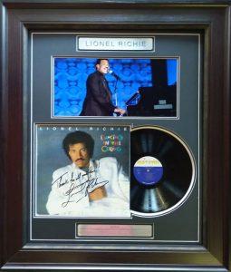 Lionel Richie – Signed LP