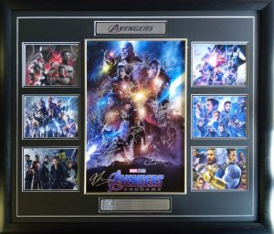 Avengers Endgame: Cast signed poster