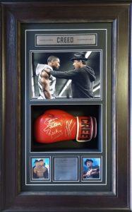 Creed : Dual Signed Glove (Michael B Jordan & Sylvester Stallone)