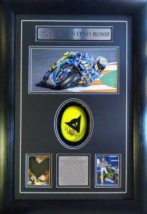 Valentino Rossi: Signed Knee Slider