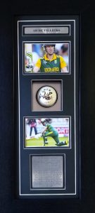 AB De Villiers Signed Cricket Ball