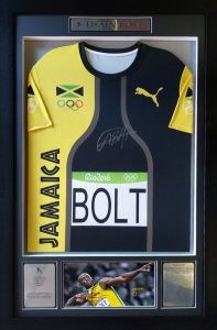 Usain Bolt: Signed Puma 2016 Olympic Shirt