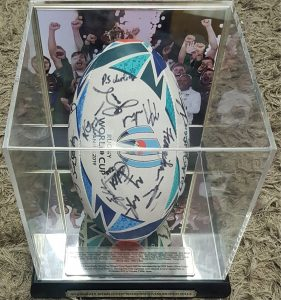 South Africa 2019 Rugby World Cup  Team Signed Ball