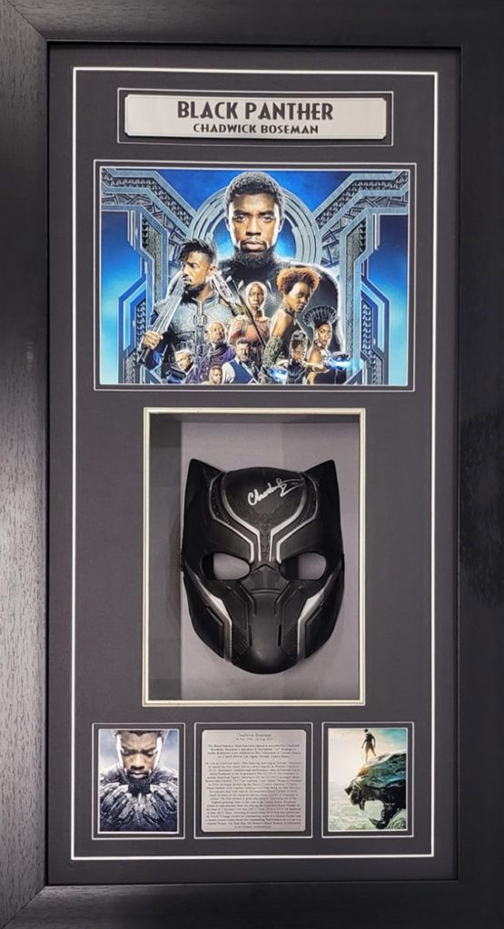 Black Panther Rare Signed Mask